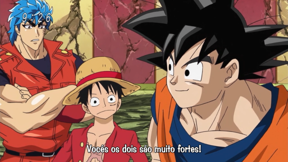 [AkumaGT-Diogo4D] One Piece x Toriko x Dragon Ball Z Crossover - 01